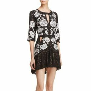 For Love and Lemons Mallorca Embroidered Dress S